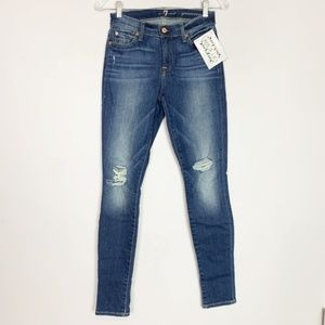 7 for all Mankind | Gwenevere skinny jeans size 25